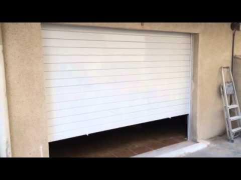 Persiana De Aluminio Motorizada Para Garaje Particular