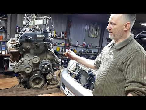 Фото к видео: Обзорчик двигателя 2TR-FE Toyota