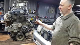Обзорчик двигателя 2TR-FE Toyota