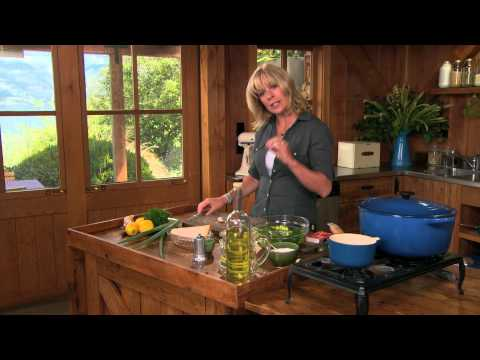 Grilled Broccoli Salad - Annabel Langbein