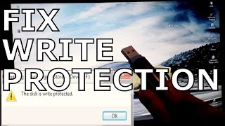 How To Fix Write Protection Error In Pendrive