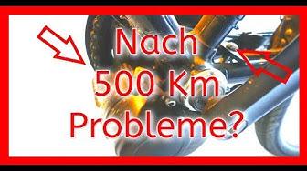 Selbstbau E-Bike nach 500km Probleme?