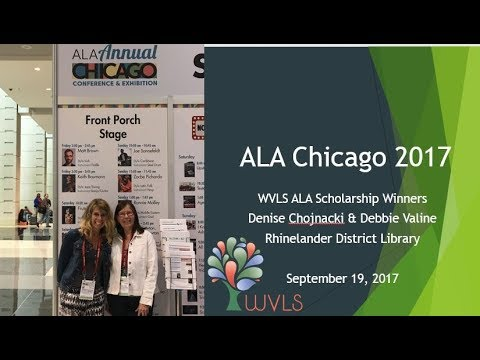 2017 ALA Conference At A Glance