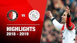 SAMENVATTING | Feyenoord - Ajax 2018-2019