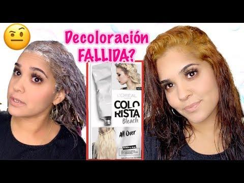 Decolorar el pelo negro