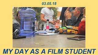 a day in the life of a film student.