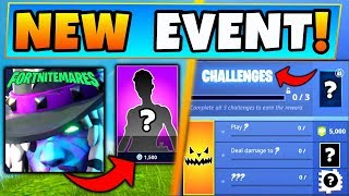 Fortnite FORTNITEMARES 2018! - NEW SKINS/NEW CHALLENGES? (8 Details for Battle Royale's Update)