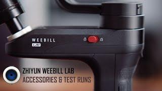 Zhiyun Weebill LAB: Accessories and Test Runs