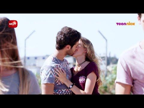 נעלמים 2: הרגעים הגדולים - דריה ותום מתנשקים מול כולם  | טין ניק