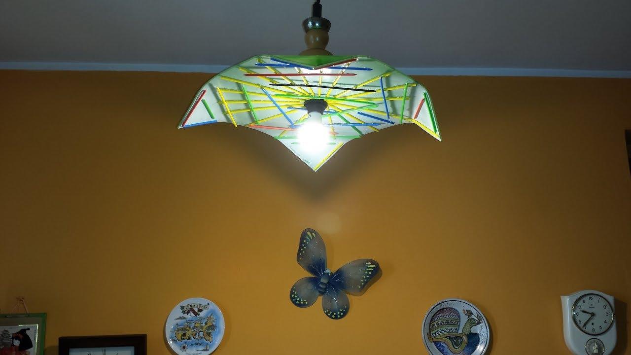 Lampadari Per Stanza Ragazzi come costruire un lampadario in plexiglas, how to make !!!