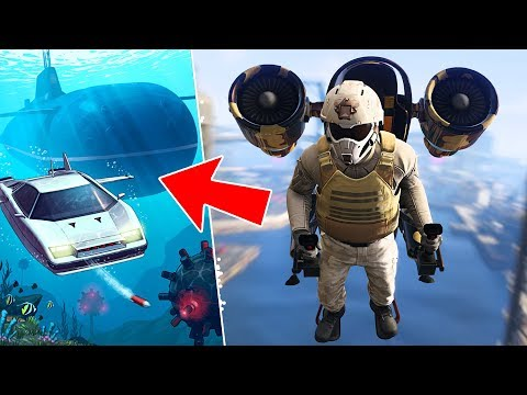 GTA 5 DLC - THE DOOMSDAY HEIST *SUBMARINE & UNDERWATER CAR* // ACT 2, PART 2!! (GTA 5 Online Heists)