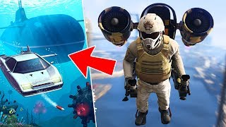 GTA 5 DLC - THE DOOMSDAY HEIST *SUBMARINE & UNDERWATER CAR* // ACT 2, PART 2!! (GTA 5 Online Heists) thumbnail