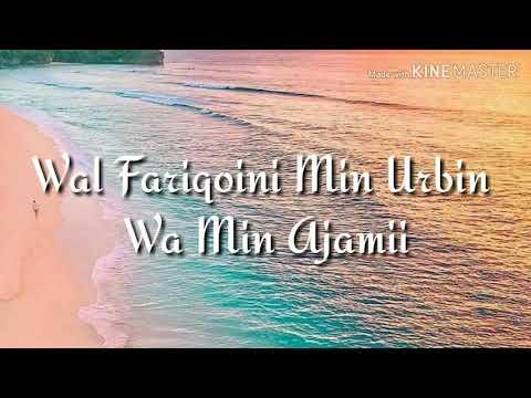Sholawat Burdah I Maula Ya Salli Wassalim Daiman Abada Lyric Lirik