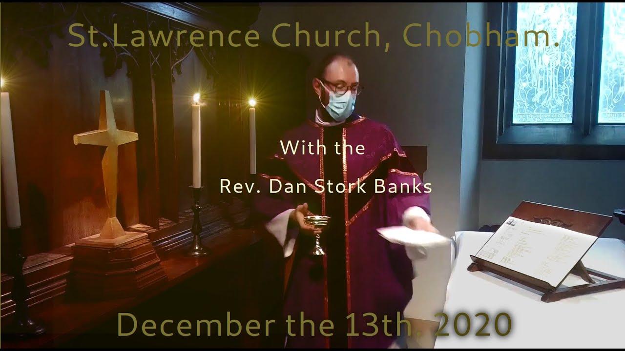 Advent III Holy Communion Service