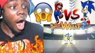 Mario Vs Sonic - Cartoon Beatbox Battles by verbalase REACTION!!!