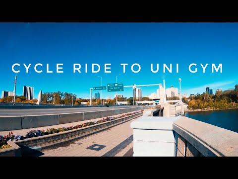 Bicycle ride to University gym thumbnail