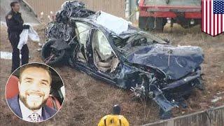 Facebook live car crash  Maserati salesman livestreams 111 mph joyride, winds up dead   TomoNews