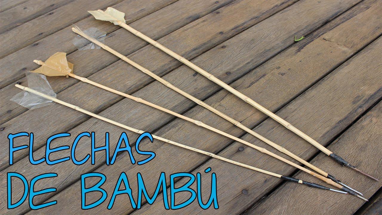 Como Fazer Flechas De Bamb 250 Youtube
