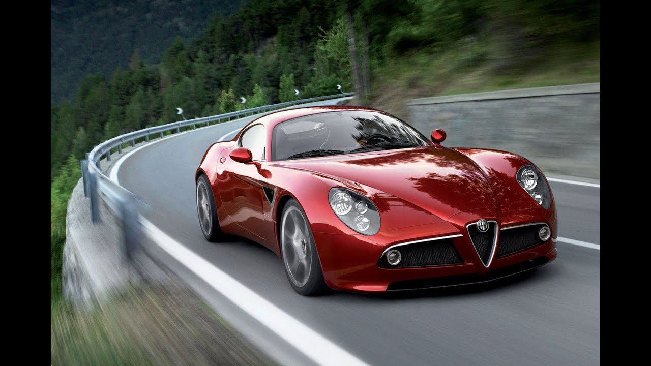 2017 Alfa Romeo 8c Luxury Cars - YouTube
