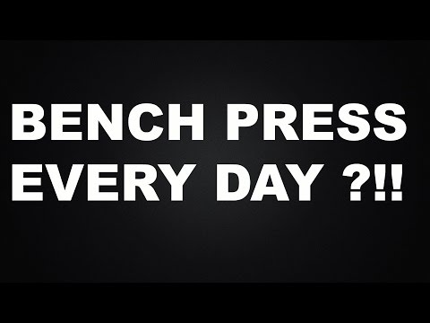 BENCH PRESS EVERY DAY - OLA'S CHEST STORY | SETS AND REPS?