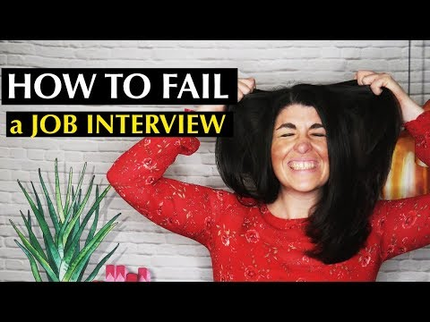 Ideas to Fail a Job Interview... PROPERLY? From The Fail Weblog thumbnail