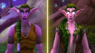 World of Warcraft: Legion (2016) vs. Vanilla (2005) Graphics Comparison