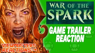 MAGIC THE GATHERING: WAR OF THE SPARK TRAILER REACTION