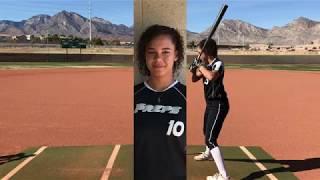 Madelynn Kennedy Softball Skills Video 2018 2 12