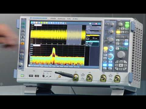 R&S RTO Digital Oscilloscope: Powerful Spectrum Analysis