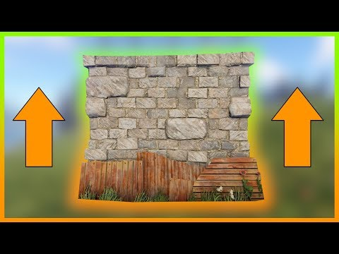 Rust Academy: BEST WAY To CLIMB HIGH WALLS | TAKE The LEAST DAMAGE
