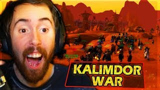 Asmongold PURGES KALIMDOR OF HORDE & BURNS The SERVER In BIGGEST WPVP Battle - WoW Classic