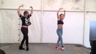 Katrin Wow & Fraules at Summer Groove Dance Camp