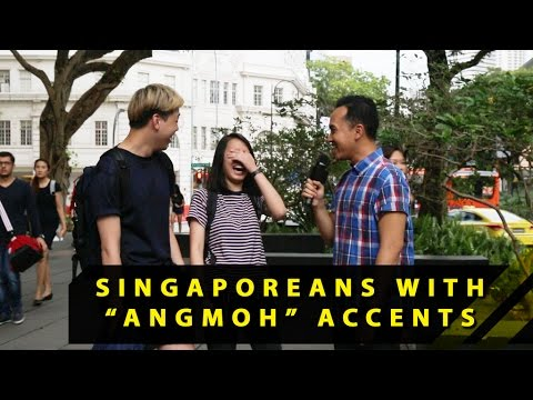 What Do People Think Of Singaporeans With Angmoh Accents?  Word On The Street