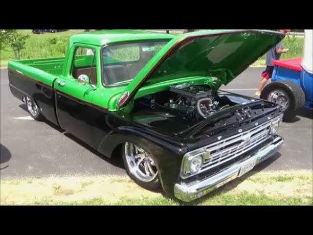 Ford F100 Custom Pickup Truck Dreamgoatinc Classic Muscle and Pro Street Videos