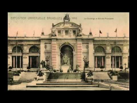 Brussels - World Expo 1910 - Exposition Universelle 100 ans
