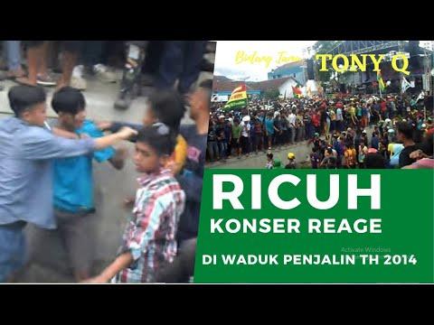 KONSER REAGE (TONY Q) RICUH DI WADUK PENJALIN PETUGURAN BUMIAYU BREBES 2014