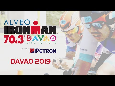 Alveo Ironman 70.3 Davao 2019 // Cycling going to Tagum City