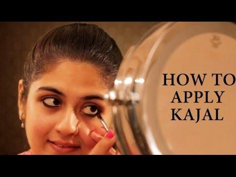 How to Apply Kajal - YouTube
