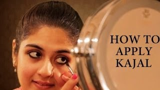 How to Apply Kajal Thumbnail