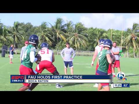 FAU Owls hold first fall practice