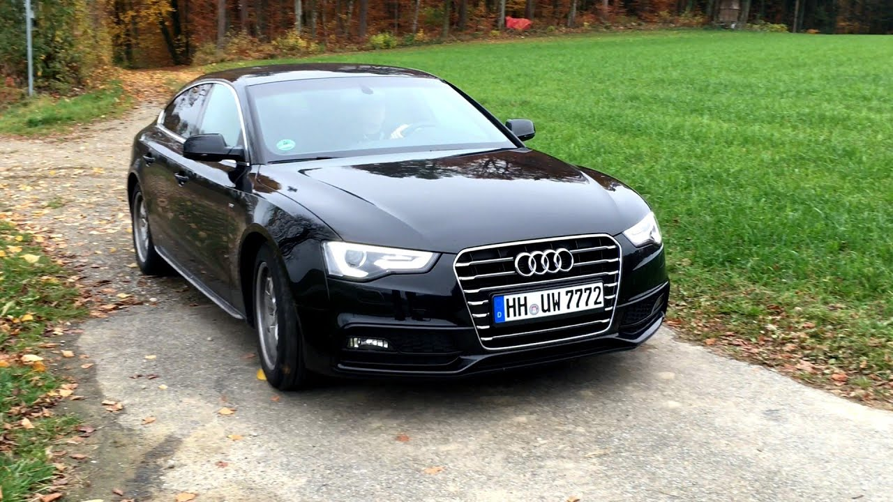 2015 Audi A5 Sportback Sline 20 Tdi 190 Hp Test Drive Youtube