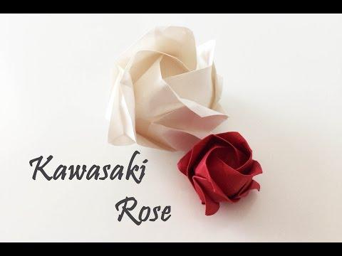 Origami  - Kawasaki Rose Tutorial