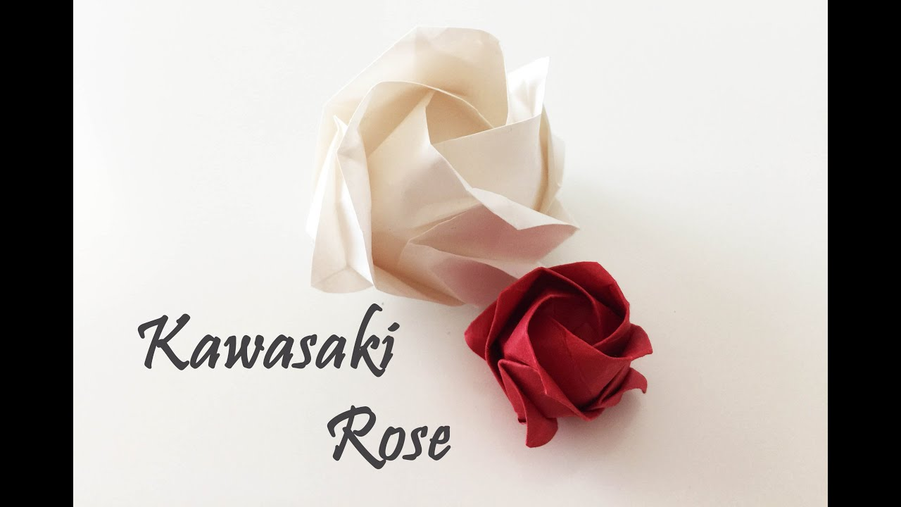 kawasaki rose | this rose was folded using kevin hines' prec… | Flickr | 720x1280
