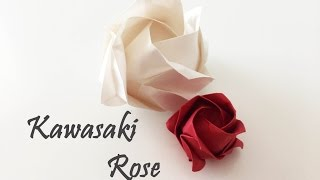 Origami  - Kawasaki Rose Tutorial