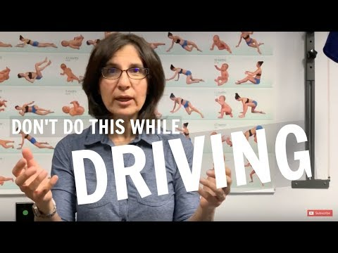 Don't Do These If You Are Driving Discussed by Irvine Chiropractor