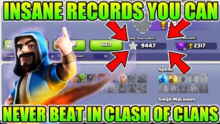 Insane Records You Can Never Beat In Clash Of Clans!!!