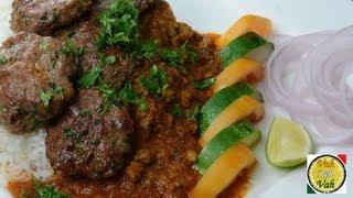 Mutton Kheema Masala Kabab - By Vahchef @ vahrehvah.com