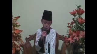 Qori Cilik - Adnan Tumanggor - 12 Tahun - Deli serdang - Sumatera Utara - Indonesia