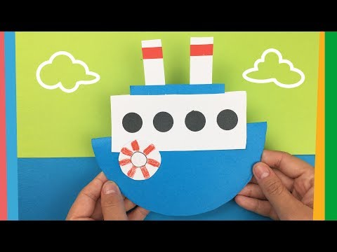 How to make a boat   Easy DIY tutorial for kids
