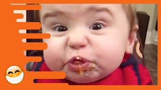 Try Not to Laugh Funny Cute Baby Video -  Funny  Fails